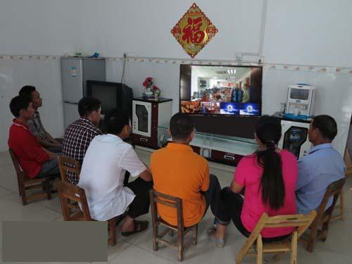云屋视频会议应用于乡村